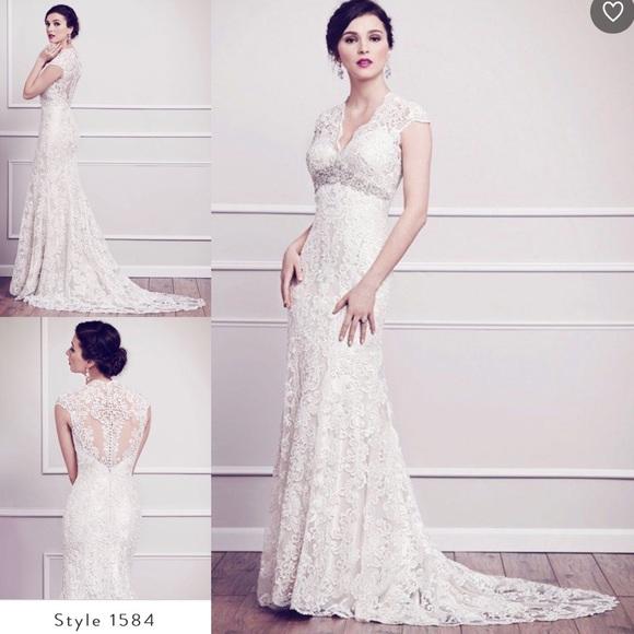 Kenneth Winston Dresses & Skirts - Lace Wedding Dress 10 Mermaid Kenneth Winston 1584